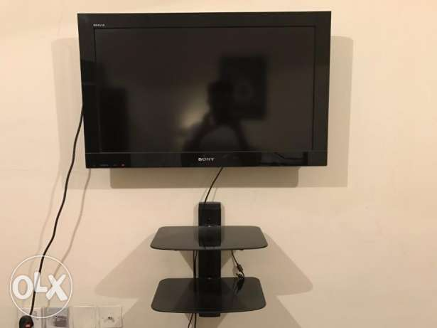 Sony Bravia 32 Inch TV with Wall Stand for Sale