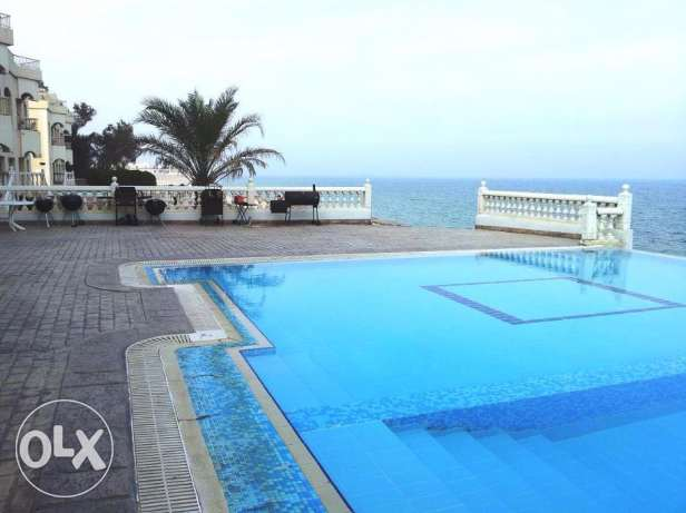2 & 3 Bedroom Villa Apts for rent in Mangaf right on the Beach