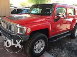 Red Hummer H3