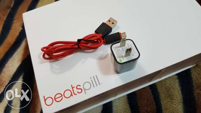 Original Beats Pill Charger Plug and Cable.