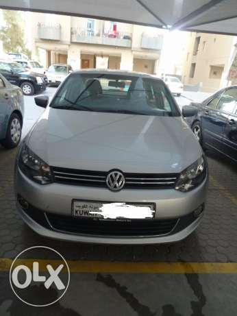 A good condition VW Polo sedan 2013 - 37,650 Mileage - first owner