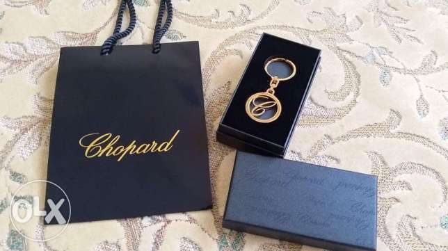 Chopard key ring/bag charm( Rose Gold Finish)
