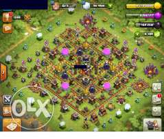 clash of clans TH 11 6000 gem/change name كلاش اوف كلانس لفل 11