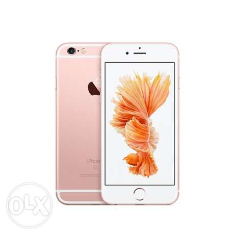 iphone 6s rose gols 23 Gb Used for 1 Month