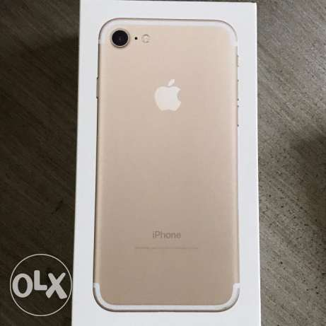 brand new apple iphone 7 Gold 128gb