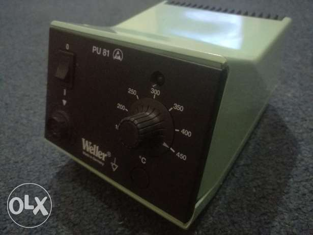 Weller pu 81 soldering station