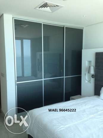 awesome seaview 1 bedroom in Mangaf المنقف -  5