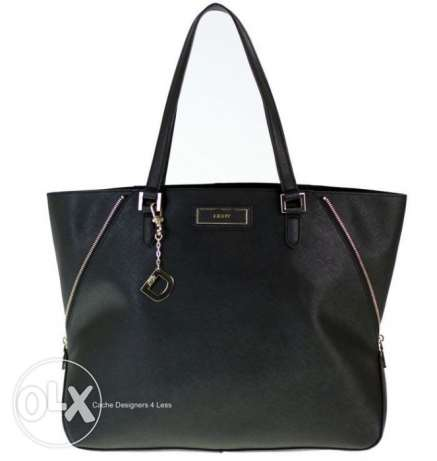 DKNY Black Saffiano Leather Bag