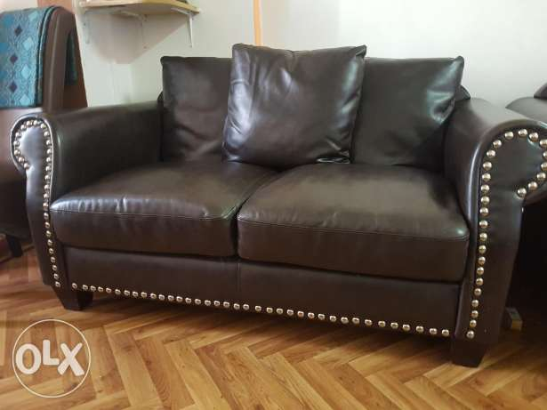Leather Sofa Set 6-8 Seater