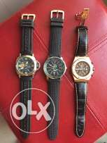 3 mens watch for sale