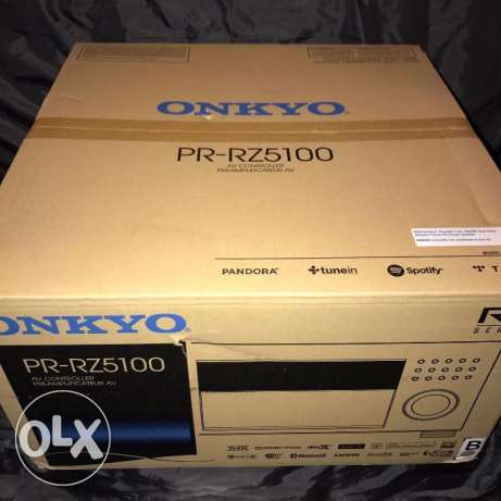 excellent new onkyo 11.2 channel pr-rz5100 network atmos 4k