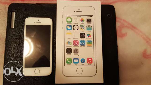 Iphone 5s 64GB no scratches like new الرابيه -  8