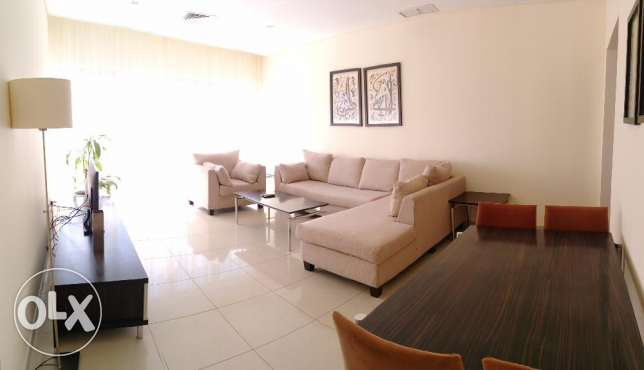 One bedroom furnished and serviced apartment close to Marina, KD550
