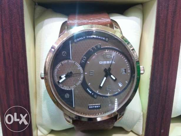 the latets only the brave diesel WATCH BRONZE for men (NEW)