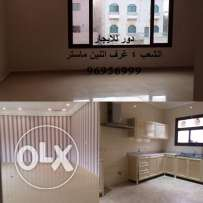 villa floor for rent in shaab 4 bedrooms 2 master 4 bath also maids