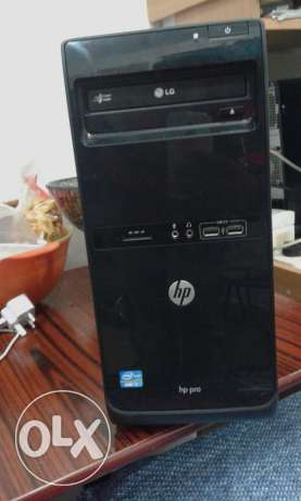 """Hp Pro 3500 Core i7 Desktop With 19""""Lcd For Sale حولي -  1"""