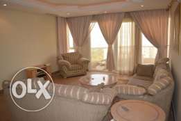 Sea view 1 Bdr furnished apt w/balcony in Salmiya
