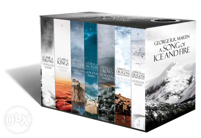 A Song of Ice and Fire - A Game of Thrones Boxset