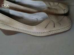 Ecco comfortable leather shoes