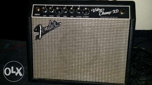 Fender Vibro Champ XD 5 watt Guitar Amp
