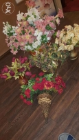 Decorative Flower with Vaz for sale