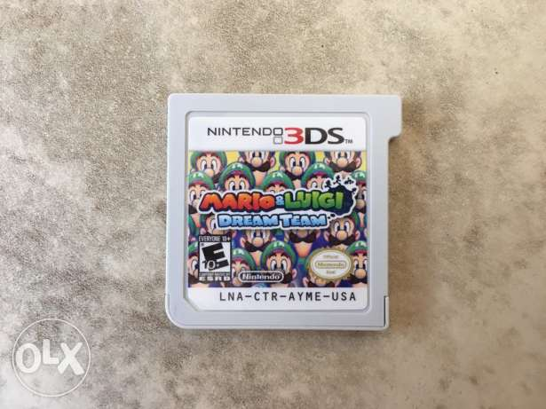 Mario and Luigi Dream Team Nintendo 3DS