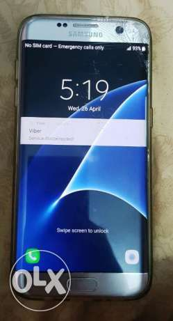 Samsung S7 Edge 32GB Silver lines on screen