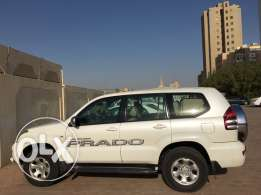Toyota Prado 2008 ..6 Cylinder Shell White color excellent condition a