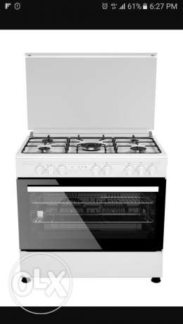 Wanza 5 Burner with Grill