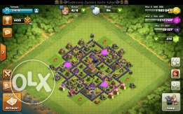 Clash of clans town hall 8