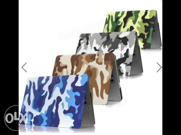 Camouflage Pattern PC Laptop Hard Case Cover Protective Shell For Appl