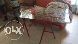 Glass top Desk from Ikea