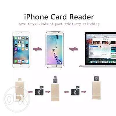 flash for iPhone you can add up to 64 gb memory card