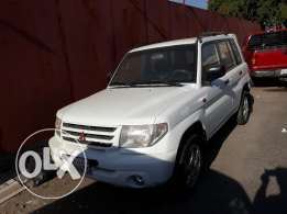Pajero io for sale 2002 model
