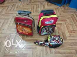 Kids School Bags - Trolley type