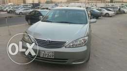 Toyota Camry 2004 GLI, 4 celender for sale