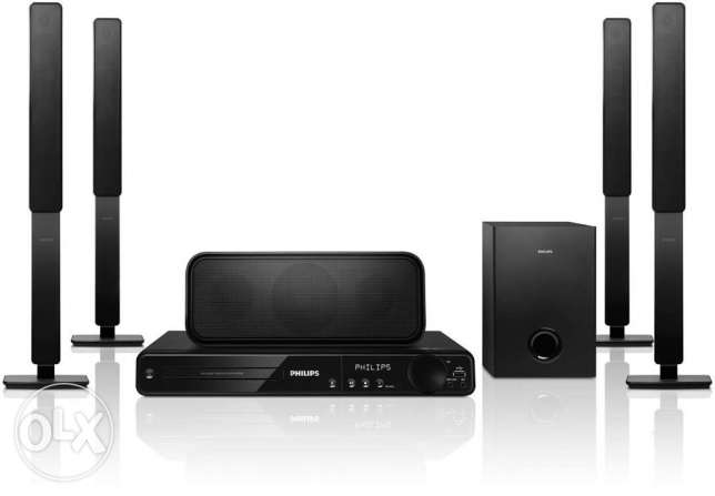Philips DVD home theater system HTS3378