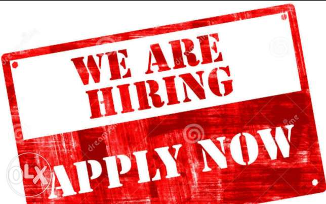 Vacancy opened for experienced tailors.