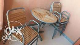 Table with 4 chairs sale