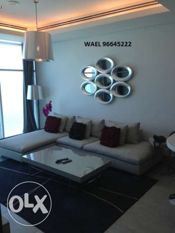 awesome seaview 1 bedroom in Mangaf المنقف -  1