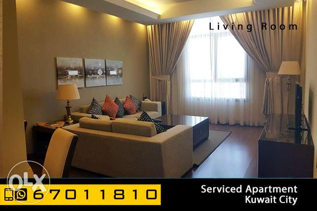 serviced 2 bedroom apartment in Kuwait City