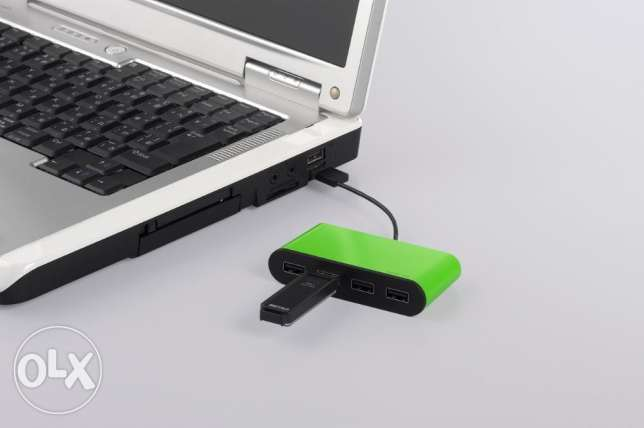 Buffalo USB hub 4 port ( Colorful and stylish ) - FREE DELIVERY