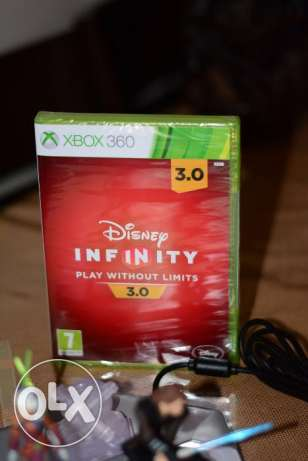 Disney infinity 3.0 starter pack with two characters for Xbox 360 السالمية -  3
