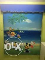 Curtain for kids room for sale.