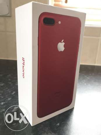 apple iphone 7plus 128gb {red}