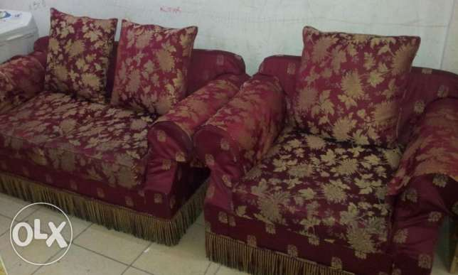 Sofa for Sale 2 seater + 1 seater