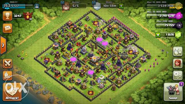 Clash of clans TH lvl 11