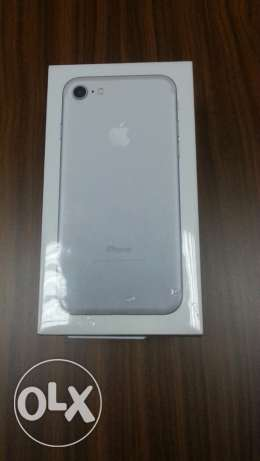 iphone 7 silver sealed pack kd 175