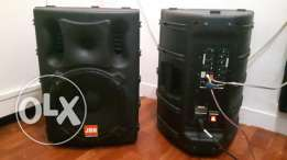 Jbn powered speaker 2 piece