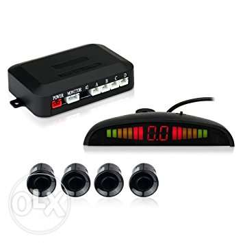 Esky LED Display Car Reverse Radar System with 4 Parking Sensors